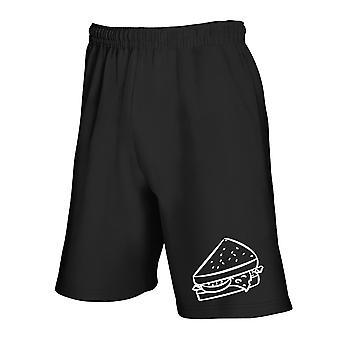 Black tracksuit shorts wes0303 sandwich
