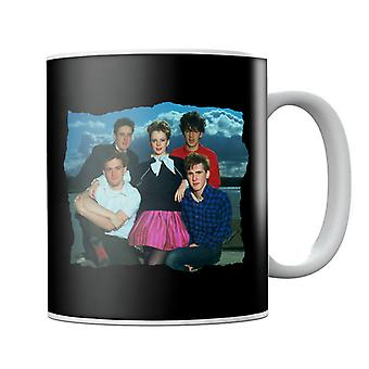 TV Times Altered Images Band Portrait Mug