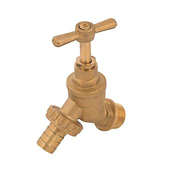 Hose Union Bib Tap - 1/2in