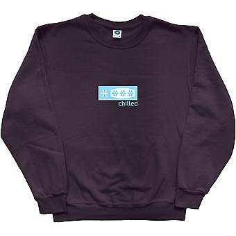 Chilled Black Sweatshirt