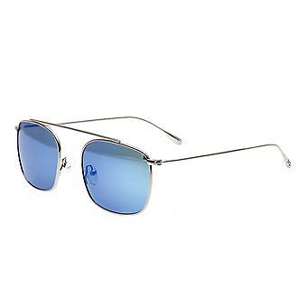 Simplificar Collins polarizado gafas de sol - plata/azul-verde