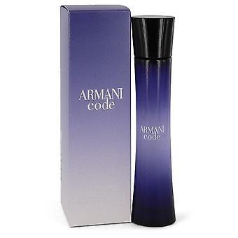 Armani-koodi eau de parfum spray by giorgio armani 430705 50 ml