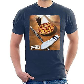 American Pie Flute Sock And Pie Men's T-Shirt