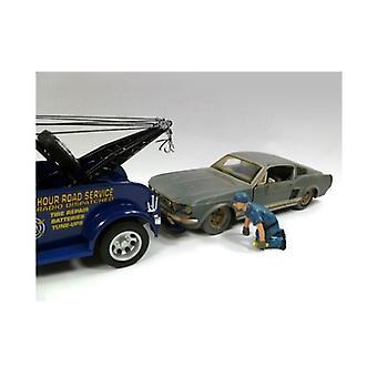 Tow Truck Driver/Operator Scott Figure For 1:24 Scale Diecast Car Models par American Diorama