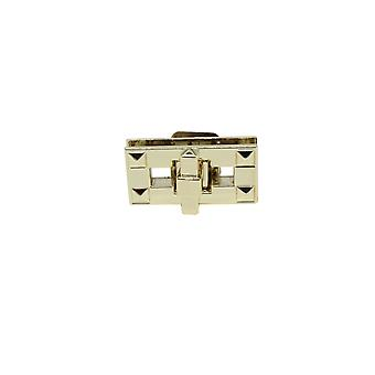 Rectangle Shape Twist and Turn Lock Purse Iron Lock Closures - Design 1