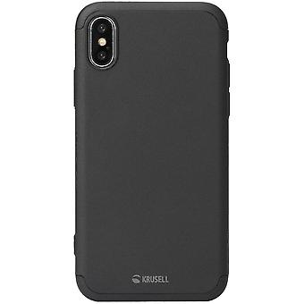 Krusell Arvika 360 accessories case for Apple iPhone X / XS 5.8 Pocket protective case black