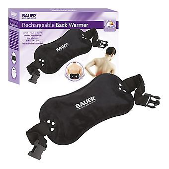 Bauer Rechargeable Electric Wearable Hot Water Bottle Black