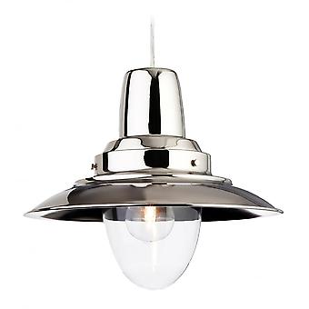 Firstlight Pacific Traditional Chrome Metal Fisherman Pendant Light