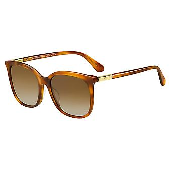 Kate Spade Caylin/S 09Q/LA Brown/Polarised Brown Gradient Sunglasses