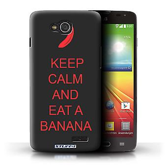 STUFF4 Case/Cover for LG L90 Dual/D410/Eat a Banana/Red/Keep Calm