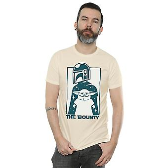 Star Wars Men's Mandalorian Bounty T-paita