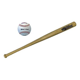 Keskilännen Slugger Wood Baseball Bat & Ball
