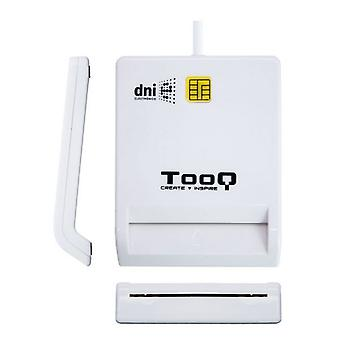 TooQ TQR-210W USB 2.0 White Smart Card Reader