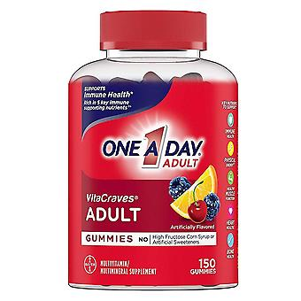 One-a-day vitacraves adult multi, gummies, 150 ea