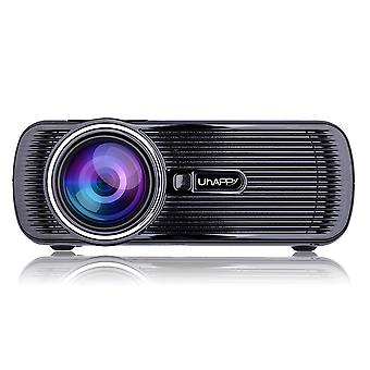 UHAPPY U80 projector 1080P HD home theater HDMI USB SD VGA zwart