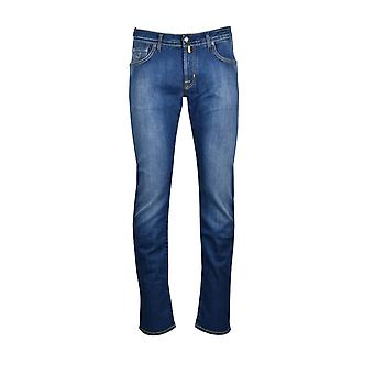 Jacob Cohen J622 Tailored Fit Jeans Denim Wash
