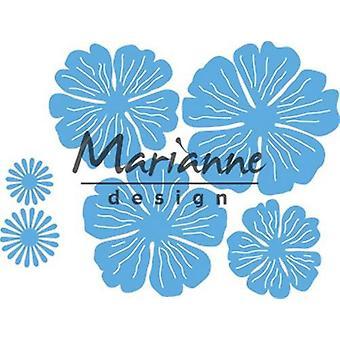 Marianne Design Creatables Schneiden stirbt - Anja's schöne Blume Set LR0546
