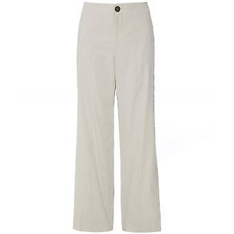 Vince Linen Blend High Waist Trousers