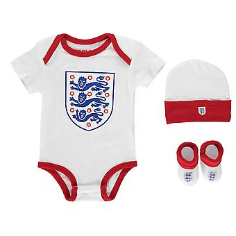 Anglii dzieci chłopców 3 częściowy zestaw dla niemowląt Odzież Krótki rękaw wokół szyi bawełny