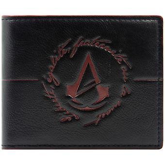 Ubisoft Assassins Creed Unity Logo munt & kaart Bi-Fold portemonnee