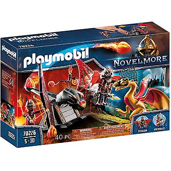 Playmobil 70226 Knights Burnham Raiders Dragon Tr