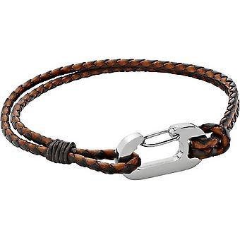 Duncan Walton Ruskin Plaited Bracelet - Brown