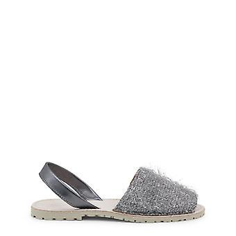 Ana Lublin Gisela Women Grey Sandals -- GISE058544