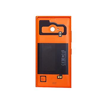 Microsoft Lumia 735 Wireless Charging Battery Door - Orange