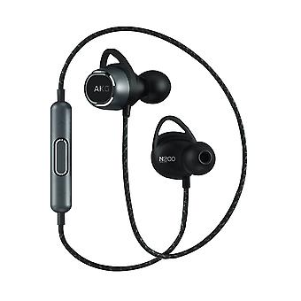 Neckband Bluetooth In-ear Headphones Remote Control Buttons- AKG, Black