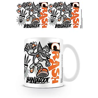 Kubek wzornik Crash Bandicoot