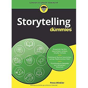 Storytelling fur Dummies by Petra Winkler - 9783527714933 Book