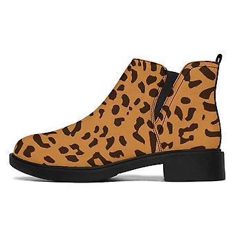 Designer Stövlar | Mode Stövlar | Leopard Tryck