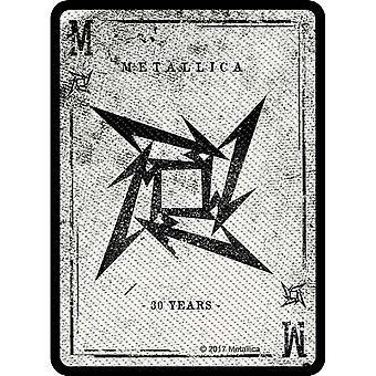 Metallica Patch forhandler bandets Logo nye offisielle vevd sy