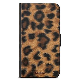 Bjornberry Wallet Case LG G6 - Leopard