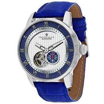 Christian Van Sant Men's Viscay White Dial Watch - CV0552
