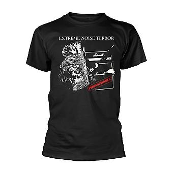 Extreme Noise Terror Phonophobia Official Tee T-Shirt Mens Unisex