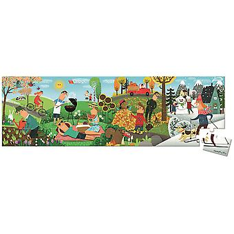 Janod Hat Boxed 36 Pcs Panoramic Puzzle