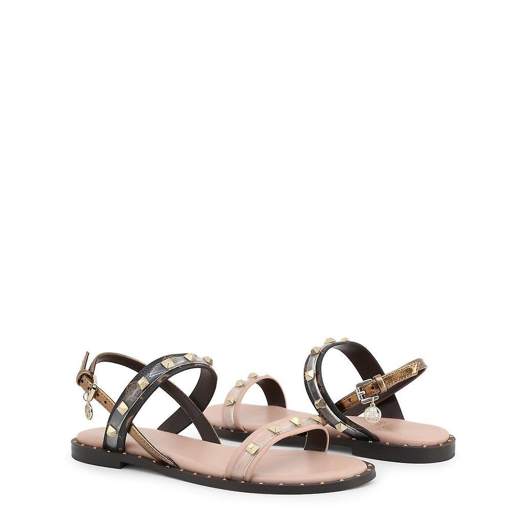 Kvinne lær sandaler sko g50007