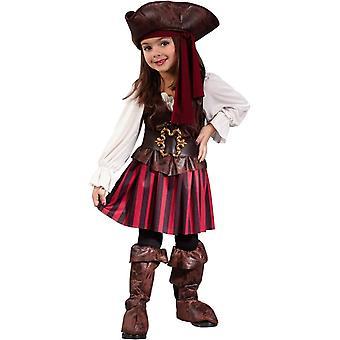 زي طفل صغير لطيف القراصنة