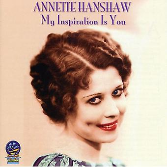 Annette Hanshaw - My Inspiration Is You [CD] USA import