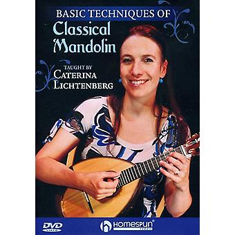 Basic Techniques of Classical Mandolin [DVD] USA import