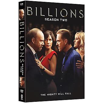 Billions: Season Two [DVD] USA import