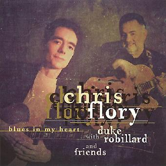 Chris Flory - Blues in My Heart [CD] USA import
