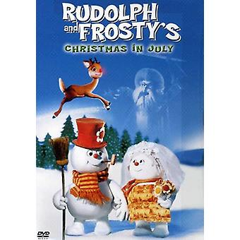 Rudolph & Frostys Christmas in July [DVD] USA import