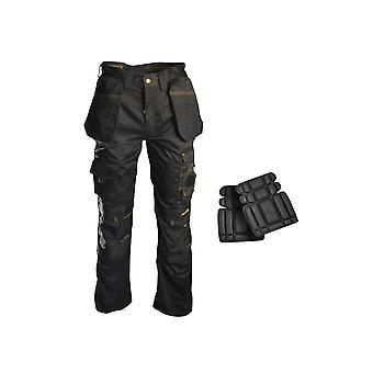 Roughneck Clothing Holster Work Trouser & Knee Pads 36in RNKTROU36AV
