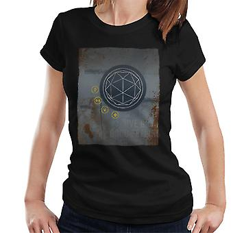The Crystal Maze Rust Panel Women's T-Shirt