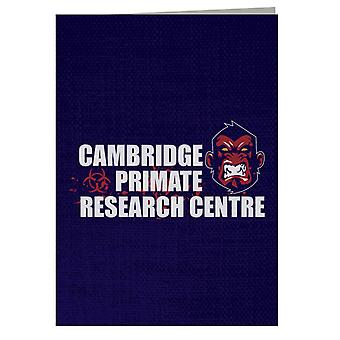 Cambridge Primate Research Centre 28 Days Later Greeting Card