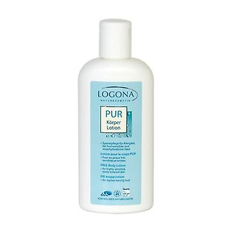 Pure Body Lotion (Fragrance Free) 200 ml of cream