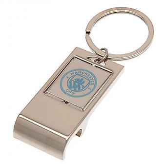 Manchester City Executive Oplukker Key Ring