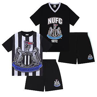 Newcastle United FC Official Football Gift Boys Korte Pyjama